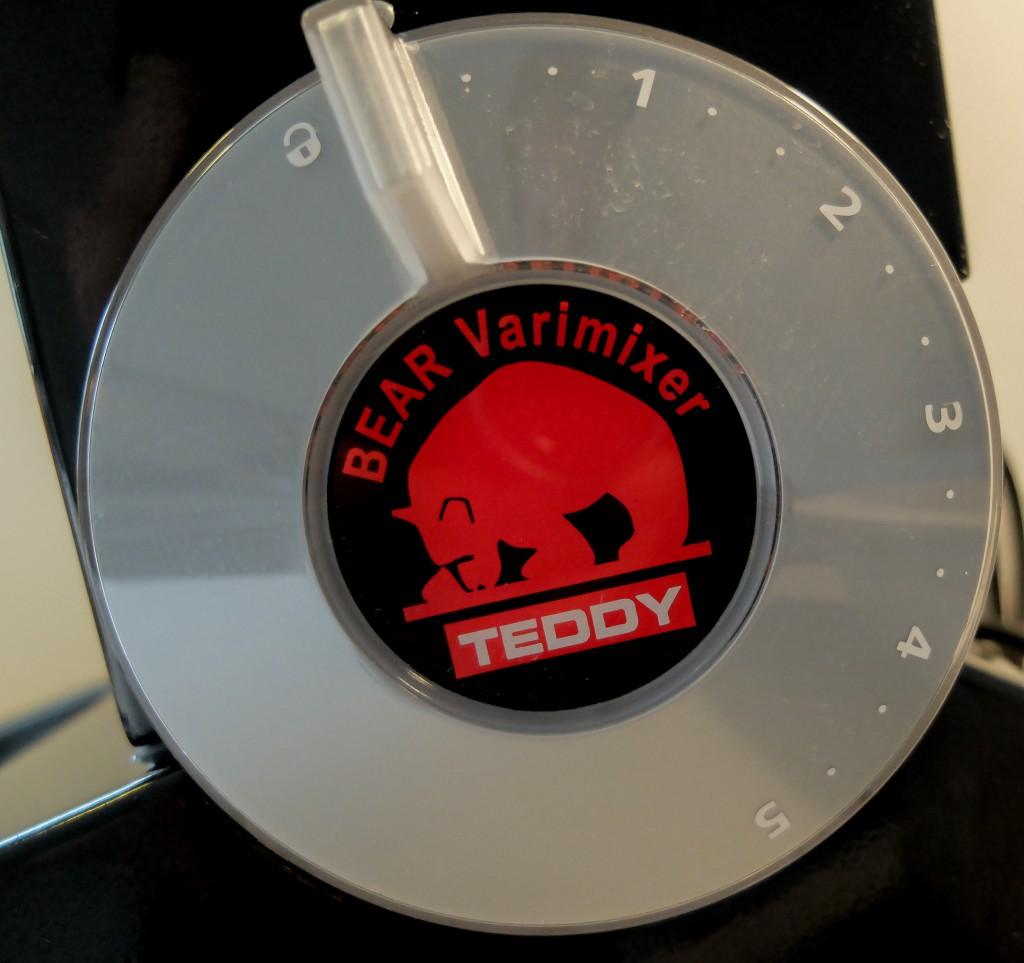 Teddy knap/logo